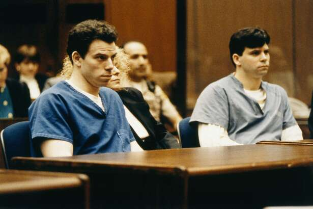 Menéndez twins    Year:  1993 - 1994   Who:  Joseph Lyle Menéndez and Erik Galen Menéndez   On trial for:  Murder of their parents, José and Kitty Menéndez.   Verdict:  Guilty