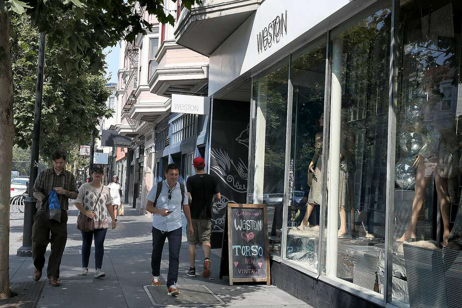 Outside view of the soon-to-close Weston Boutique on Sept. 1, 2017. Photo: Liz Hafalia, The Chronicle
