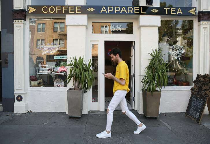 Outside view of the Benny Gold store on Friday, September 1, 2017, in San Francisco, Calif.