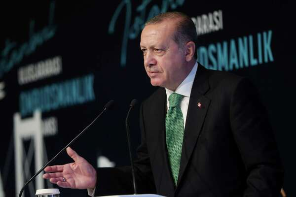 "Turkey can ""close the valves"" on oil exports from Kurdistan, President Recep Tayyip Erdogan says."