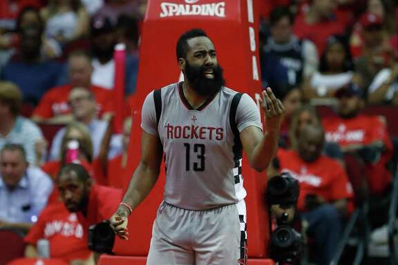 James Harden feels that the frustration he showed in last season's finale would not have boiled over had Chris Paul been with the Rockets.