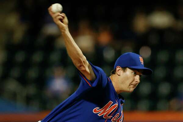 NEW YORK, NY - SEPTEMBER 25: Pitcher Seth Lugo #67 of the New York Mets delivers a pitch against the Atlanta Braves during the first inning in the second game of a doubleheader at Citi Field on September 25, 2017 in the Flushing neighborhood of the Queens borough of New York City. (Photo by Rich Schultz/Getty Images) ORG XMIT: 775023639