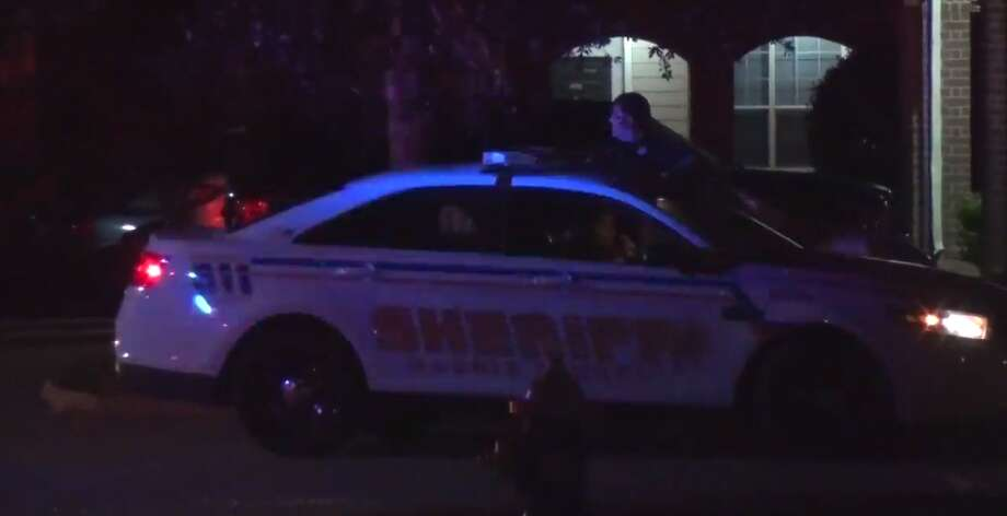 A 12-year-old boy was injured during a hit-and-run early Tuesday in northeast Harris County. (Metro Video) Photo: Metro Video