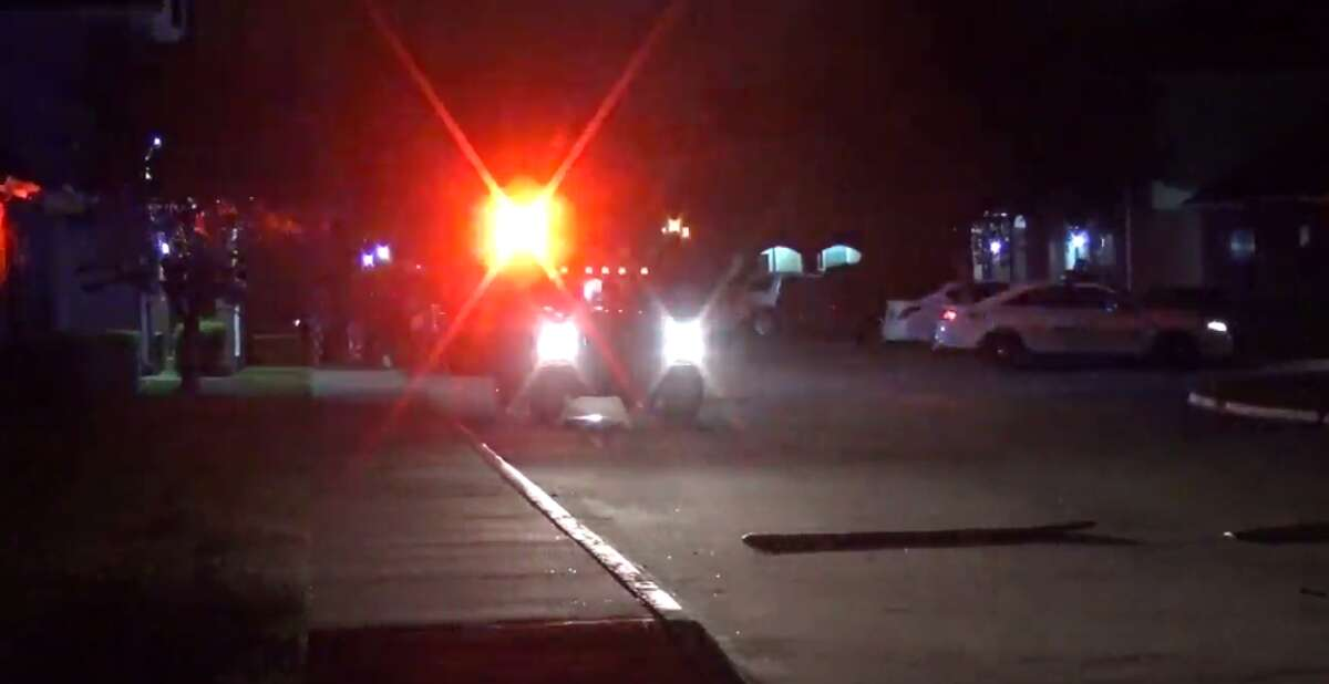 A 12-year-old boy was injured during a hit-and-run early Tuesday in northeast Harris County. (Metro Video)