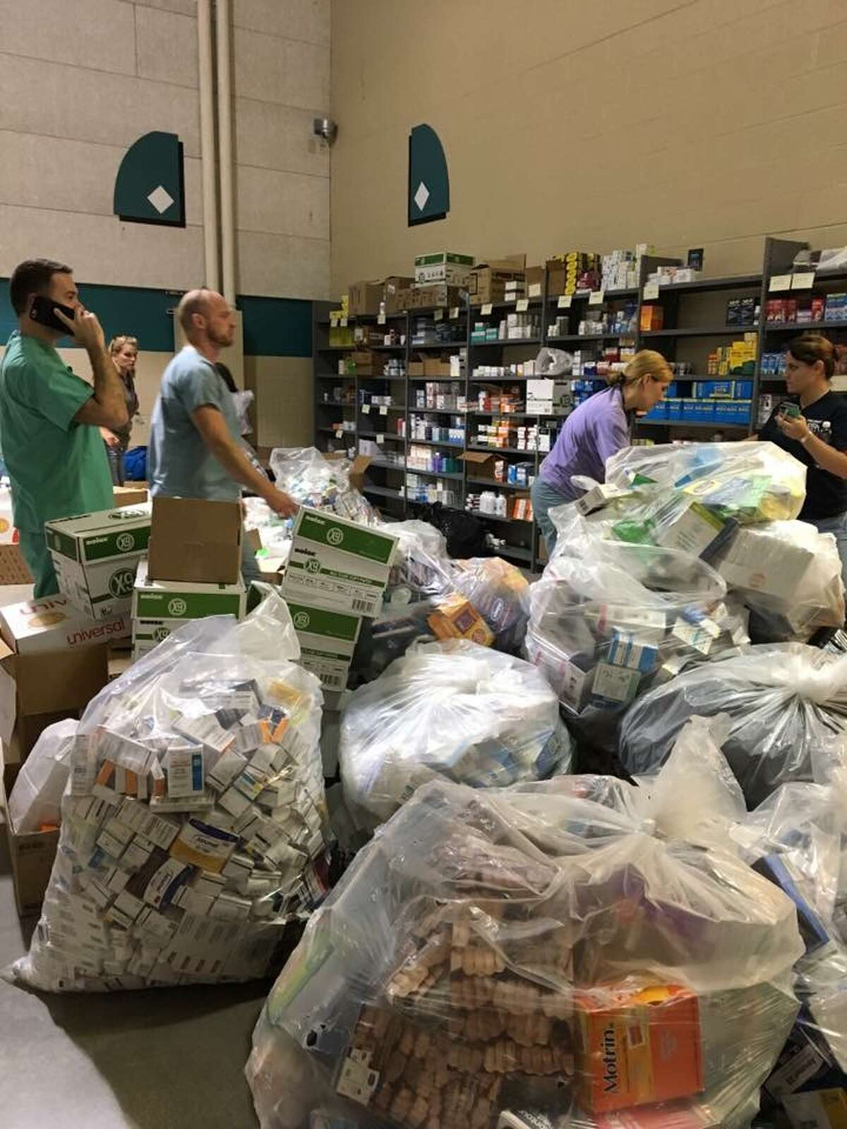 A group of Texas doctors are looking to ship more than a ton of medical supplies to Puerto Rico, which has been devastated by Hurricane Maria.