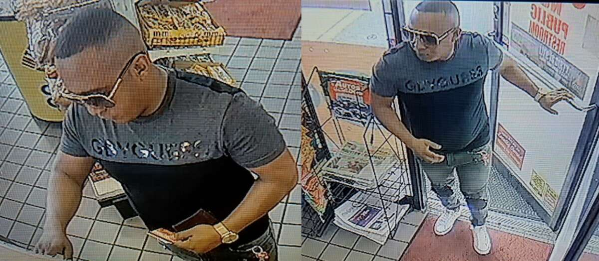 The suspect pictured is wanted in an Aug. 7, 2017 fraud case in Fort Bend County. Two suspects are accused of using a victim's debit card number to purchase money orders and make an ATM withdrawal, stealing more than $17,000, according to the Fort Bend County Sheriff's Office.