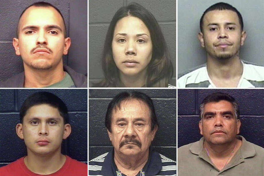 As of September 2017, there are 16 pending Laredo-area homicide cases, with a total of 19 defendants.  Click through the gallery above to see mugshots of the homicide case defendants. Photo: Webb County Sheriff's Office