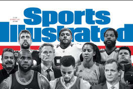 The Sports Illustrated cover for Oct. 2, 2017.