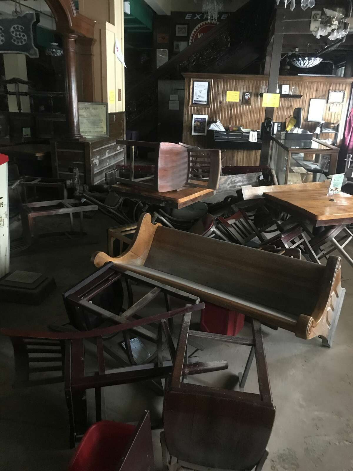 While the Spaghetti Warehouse's top brass figure out what will happen to the flood-damaged downtown Houston location they have released a handful of photos of what Hurricane Harvey did to the Italian joint.