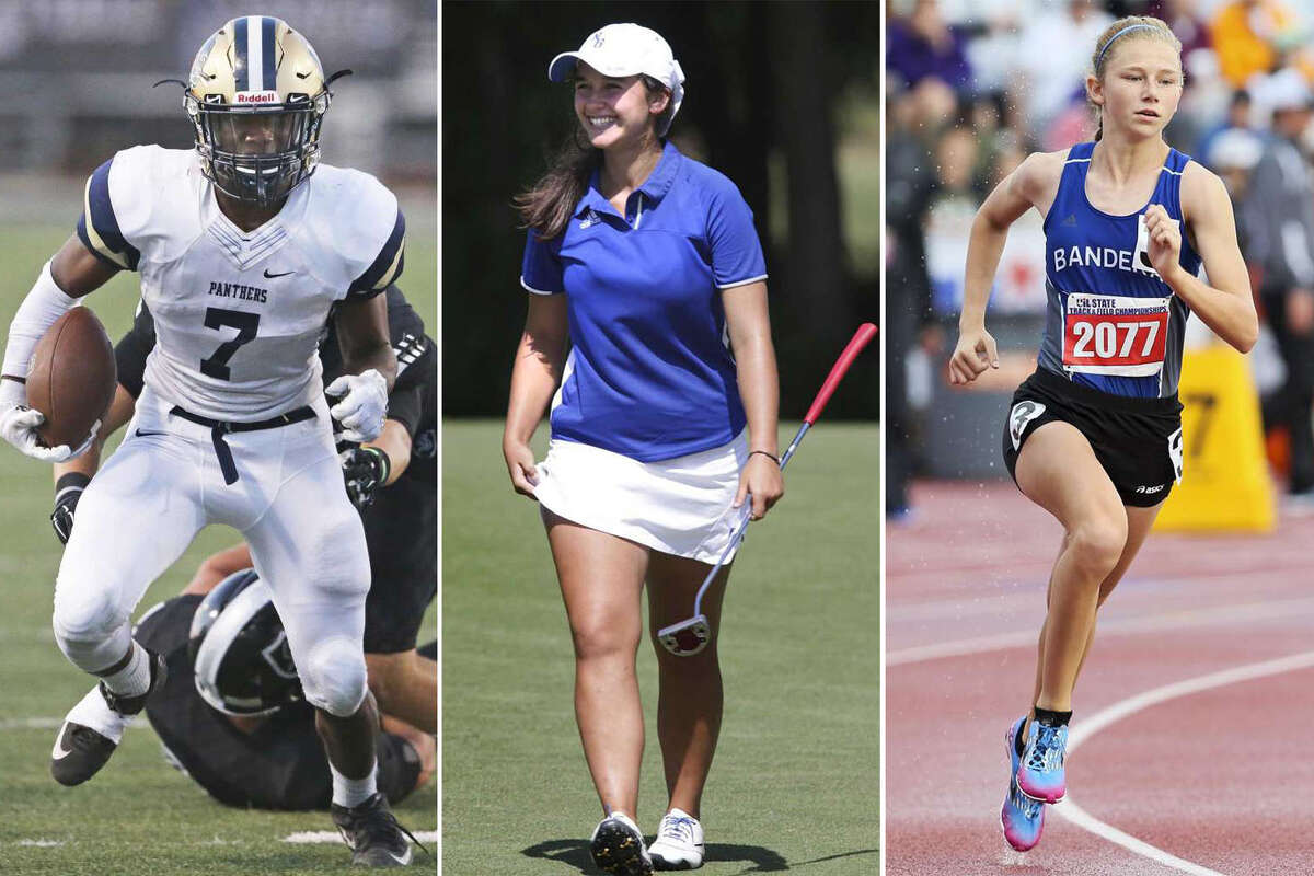 Click through for a closer look at some of the rising star San Antonio high school athletes dominating their sports this year.