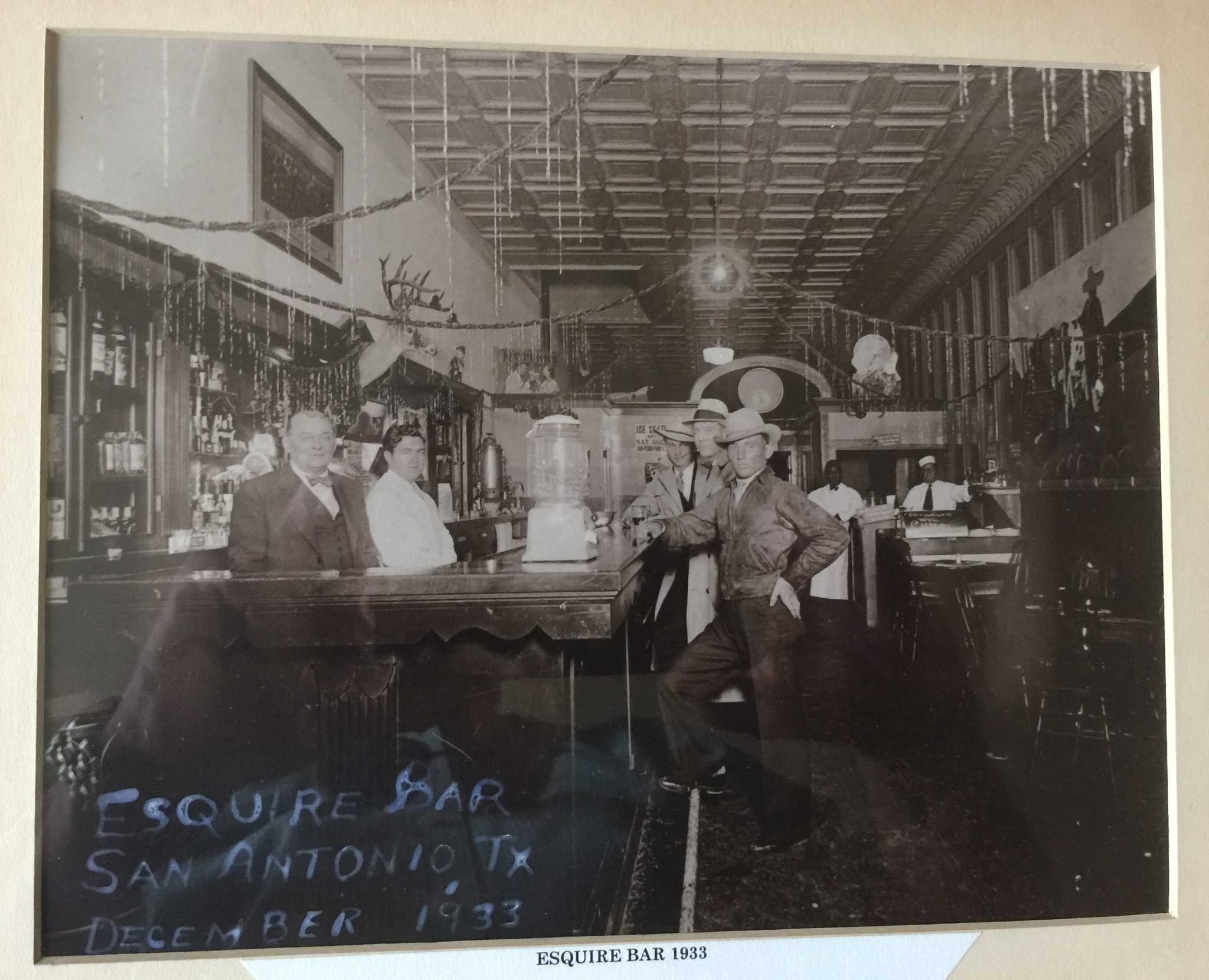 Vintage Photo Gives Glimpse Inside The Esquire Tavern In