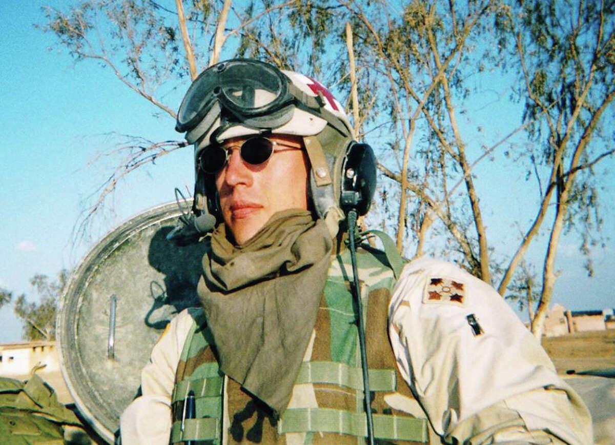 U.S. Army combat medic SGT Timothy Stroud, will keynote the Oyster Creek Rotary Club Veterans Appreciation Luncheon.