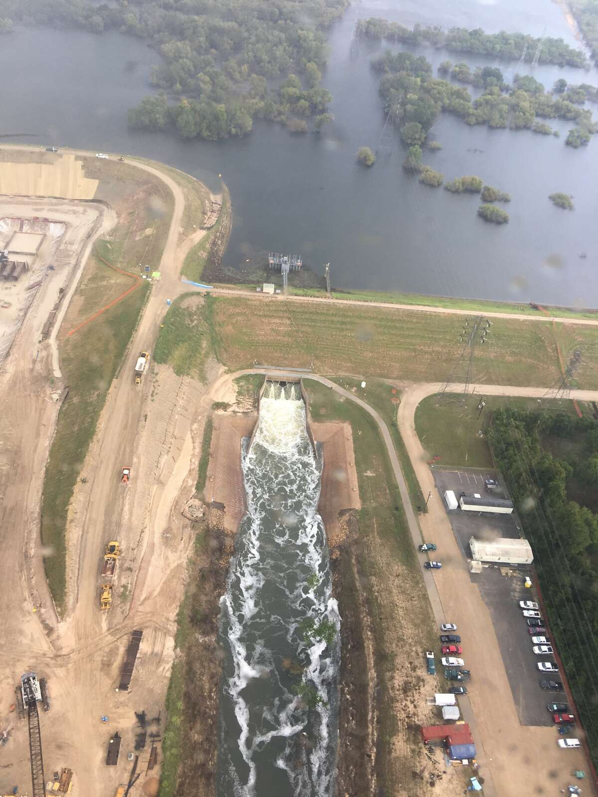 On Sept. 18, Congressman Michael McCaul, R-Texas, took an aerial tour of the flooded Houston area.