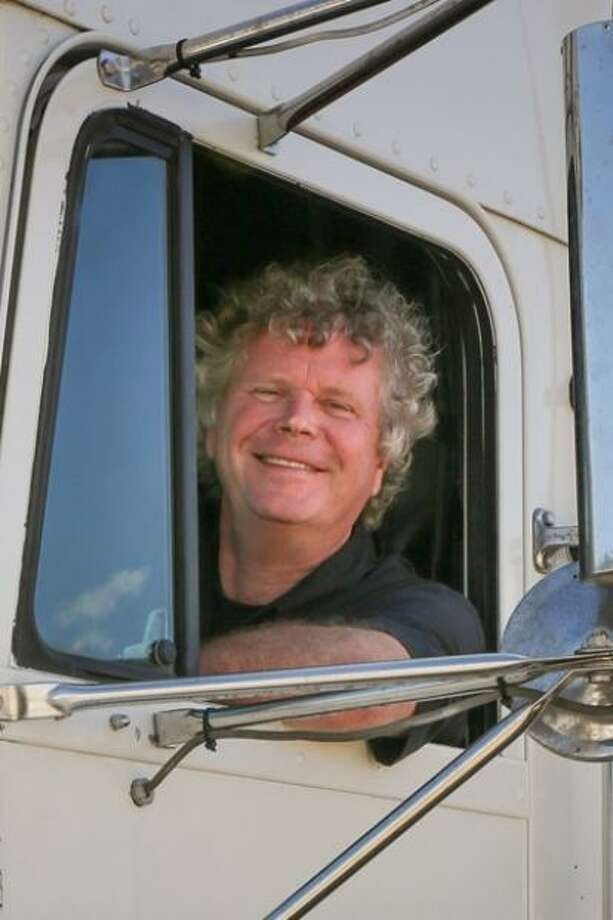"Greenwich native Finn Murphy has written a book, ""Long Haul,"" documenting his decades on the road as a tractor trailer driver. Photo: Greenwich Native Finn Murphy Has Written A Book, ""Long Haul,"" Documenting His Decades On The Road As A Tractor Trailer Driver."