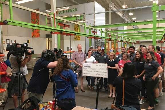 The #ReliefBeers effort has raised more than $35,000 for the Houston Food Bank. (Ronnie Crocker / Beer, TX)
