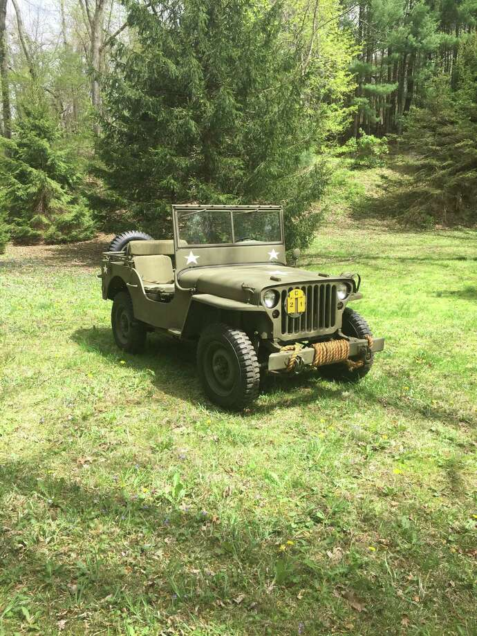 The Middlesex County Historical Society is honoring servicemen and women by featuring a 1942 GPW Jeep owned by Bill Cross at its annual car show on Sunday, Oct. 1. Photo: Contributed Photo / Contributed Photo Not For Resale