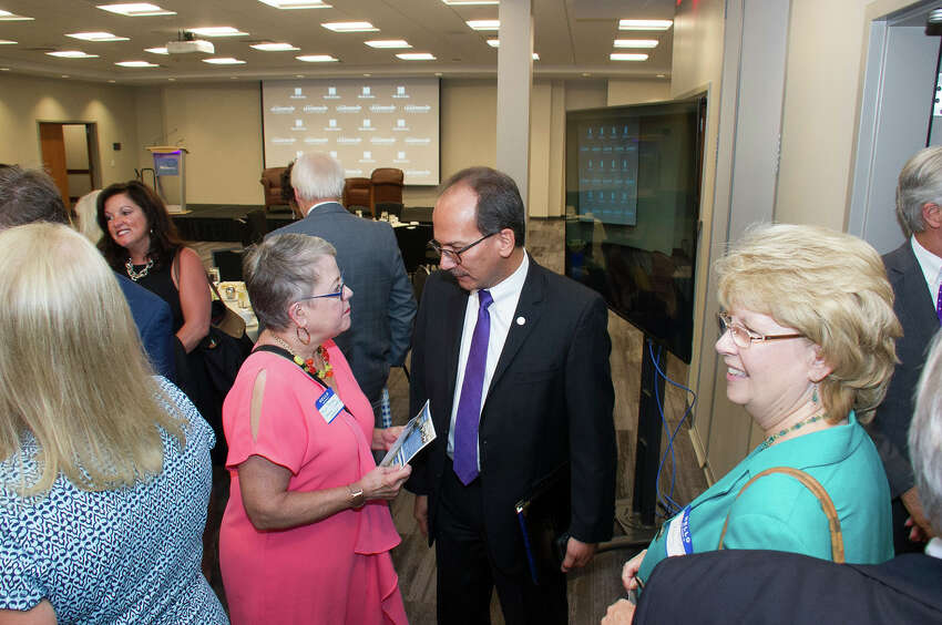 Were you Seen at the Times Union Leadership Luncheon with newly-appointed University at Albany PresidentHavidánRodriguez on Monday, September 25, 2017 at Hearst Media Center at the Times Union in Albany, NY?