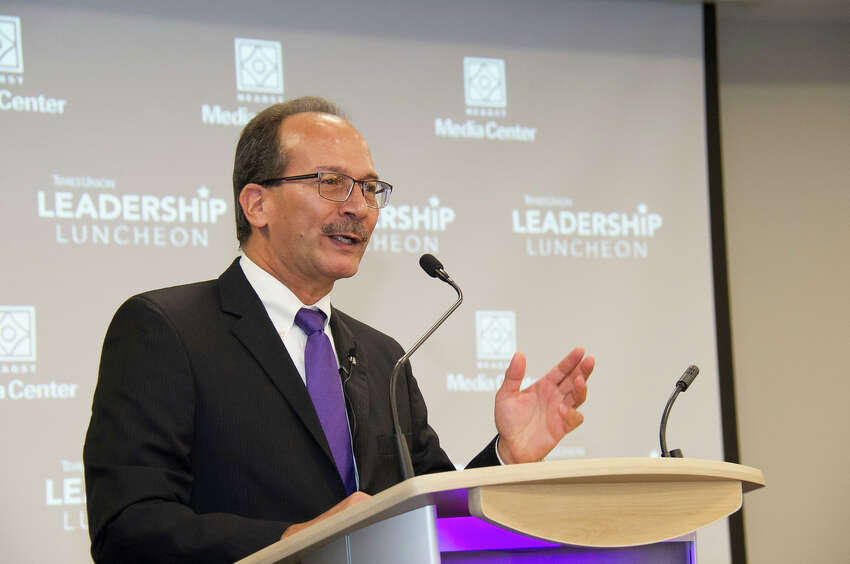 Were you Seen at the Times Union Leadership Luncheon with newly-appointed University at Albany PresidentHavidán Rodríguez on Monday, September 25, 2017 at Hearst Media Center at the Times Union in Albany, NY?