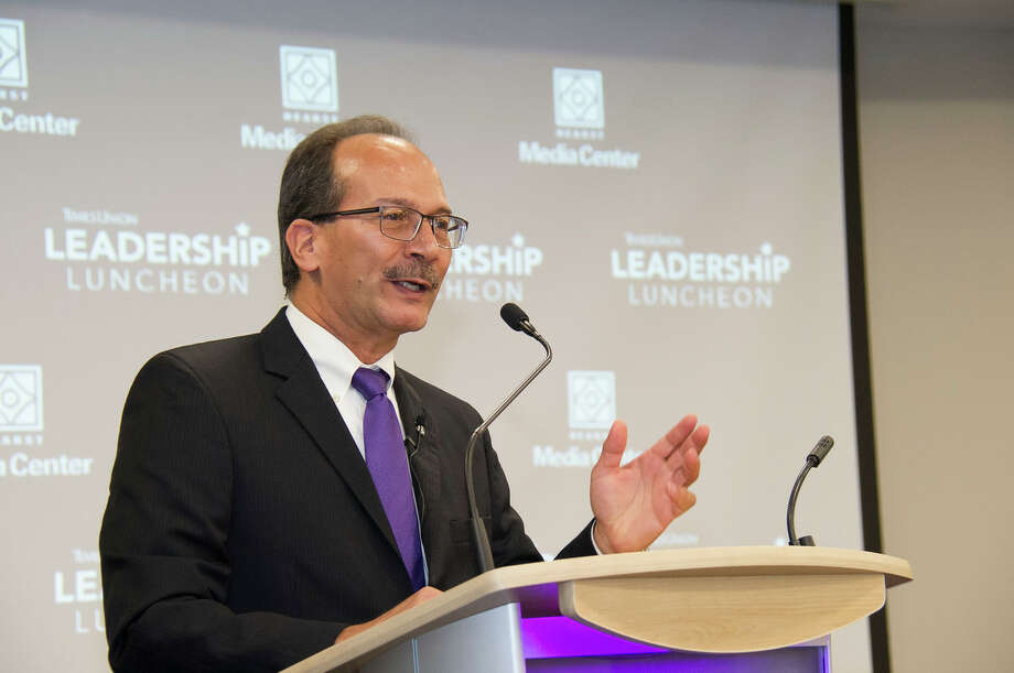 Were you Seen at the Times Union Leadership Luncheon with newly-appointed University at Albany PresidentHavidán Rodríguez on Monday, September 25, 2017 at Hearst Media Center at the Times Union in Albany, NY? Photo: Mark Schmidt