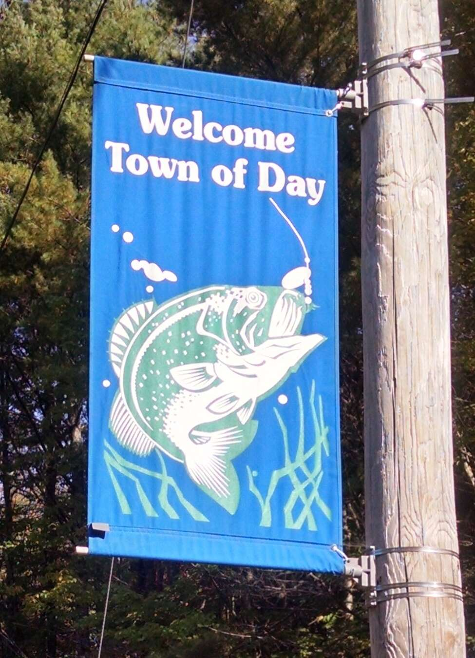 Entrance to the town of Day on West Mountain Road. (Tim Blydenburgh)
