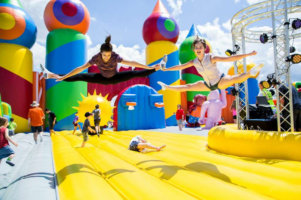 The Largest Bounce House In The World Is Coming To Houston Over Halloween  Weekend A