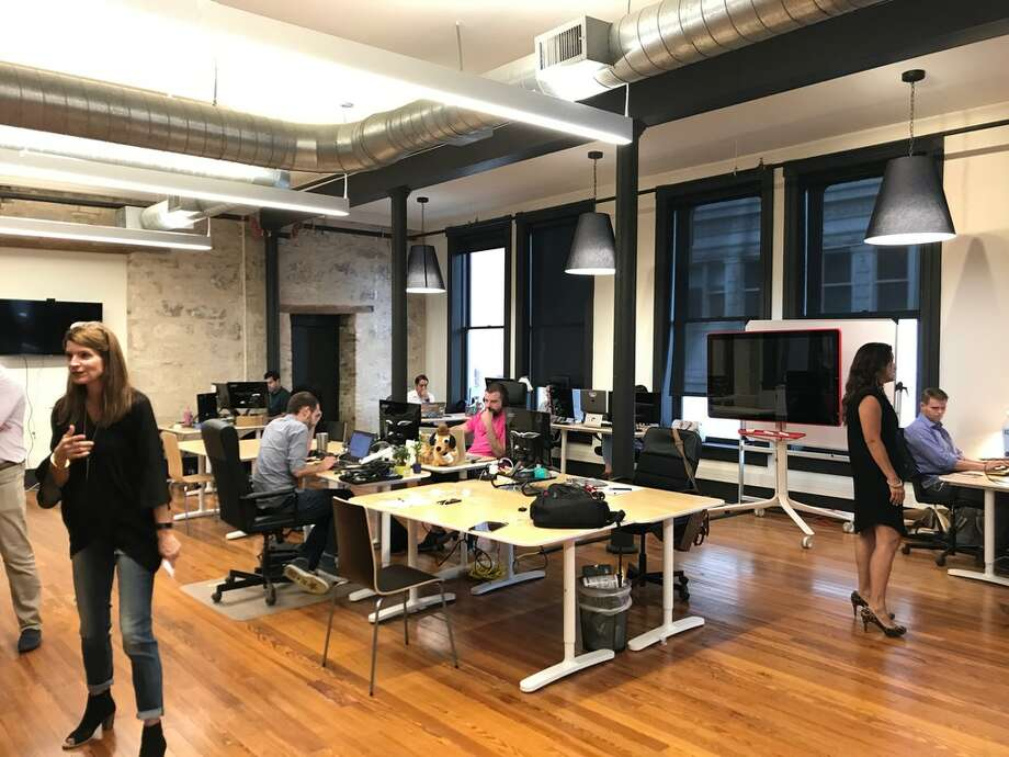 Scaleworks' new office space in downtown San Antonio. The firm moved recently into its new digs in the Savoy Building on East Houston. Photo: Samantha Ehlinger	/ San Antonio Express-News