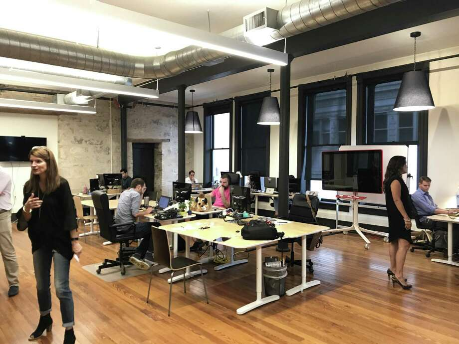 Scaleworks, housed in downtown San Antonio, is adding Keen IO to its roster of tech companies. Photo: Samantha Ehlinger / San Antonio Express-News