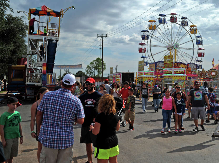 The Fair is from 10 a.m. to 10 p.m. Saturday. Carnival is 6 p.m. to midnight today and Friday, 10 a.m. to midnight Saturday and 1 to 6 p.m. Sunday at 1906 W. Texas Ave.  Photo: James Durbin