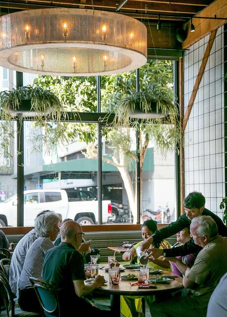 People have dinner at Barcino in S.F. Photo: John Storey, Special To The Chronicle