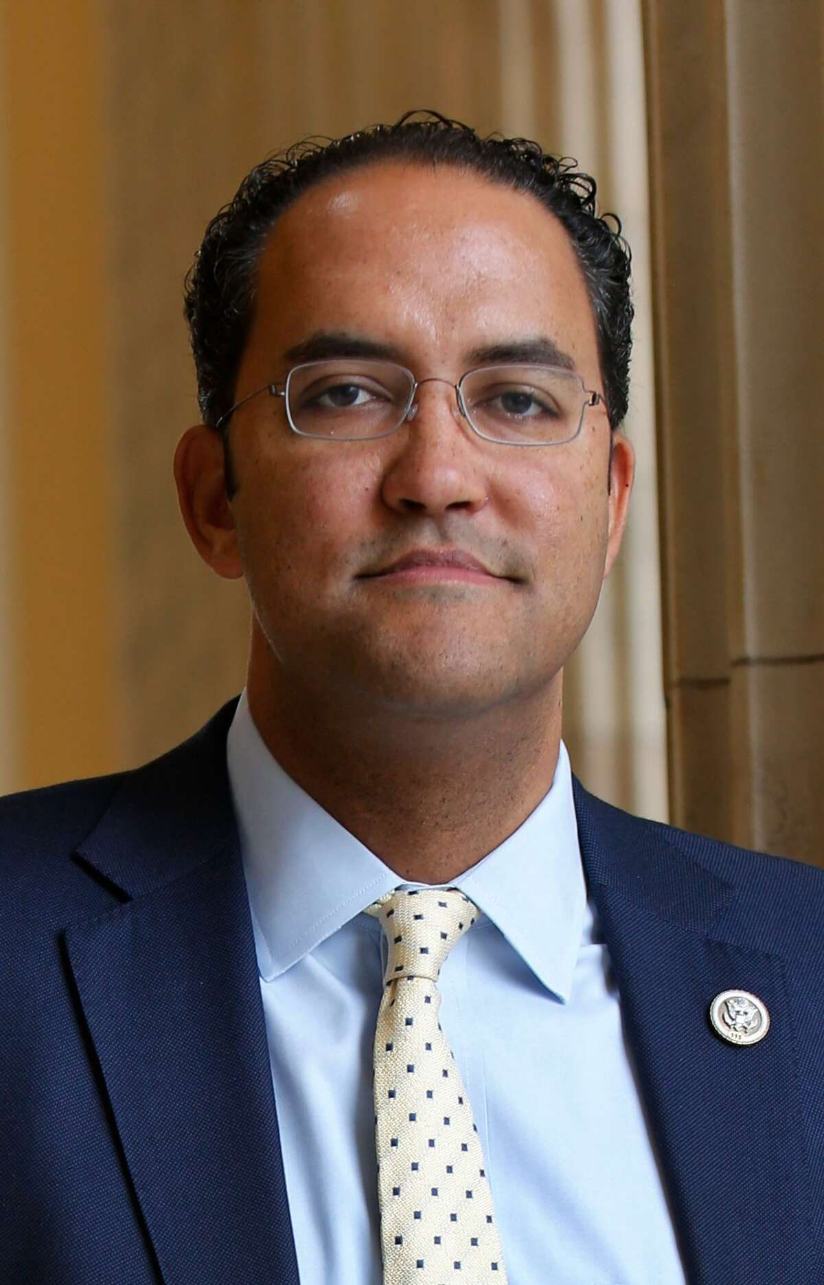 WASHINGTON, DC - January 19, 2017 - Rep. Will Hurd, R-TX, in the rotunda of the Cannon Building where his office is.
