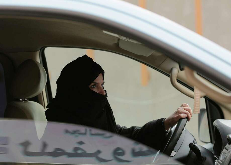 Since the 1990s, women's rights activists in Saudi Arabia have pushed for the right to drive. Their efforts will be rewarded in June 2018. Photo: Hasan Jamali, STR / Copyright 2017 The Associated Press. All rights reserved.