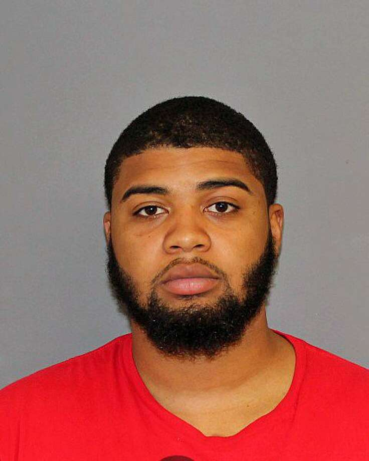 Davie Mcmillian, 23, of Waterbury, Conn., was charged Monday, Sept. 25, 2017, with illegal possession of narcotics and violation of a protective order, police said. Photo: Contributed Photo / Shelton Police Department / Contributed Photo / Connecticut Post Contributed