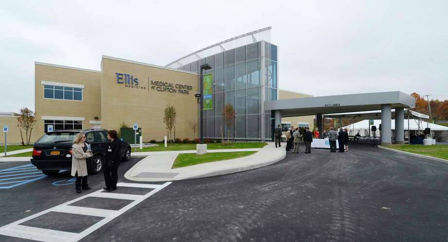 """Ellis Medicine had it's official opening of the new Ellis Medical Center in Clifton Park, N.Y.  Oct 26, 2012.  The Center also has an """"emergent care"""" clinic at the site for emergency care at the site.     (Skip Dickstein/Times Union) Photo: Skip Dickstein / 00019851A"""
