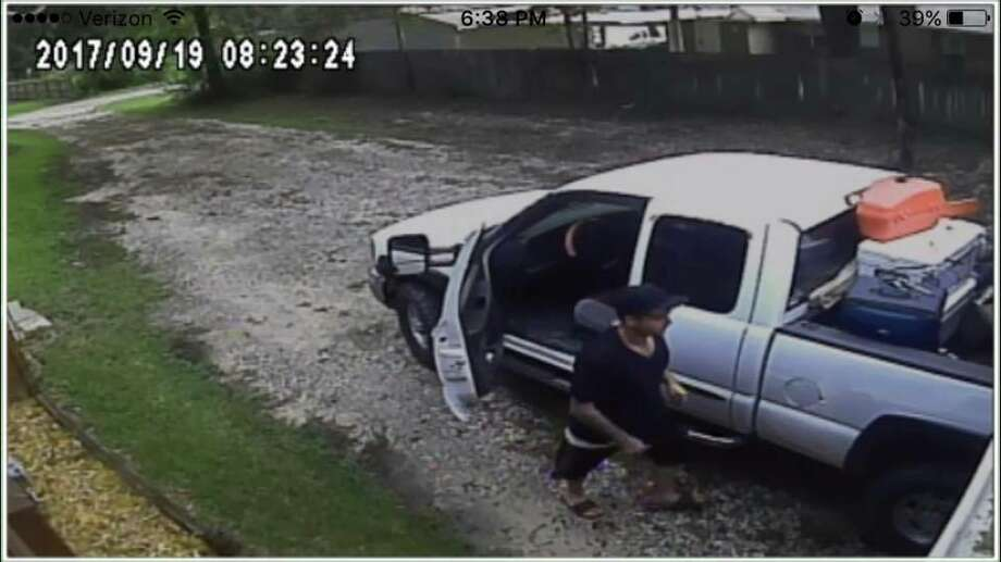 The Montgomery County Sheriff's Office is searching for a suspect who stole an ATV from a Porter home's garage on Sept. 19, 2017. Photo: Montgomery County Sheriff's Office