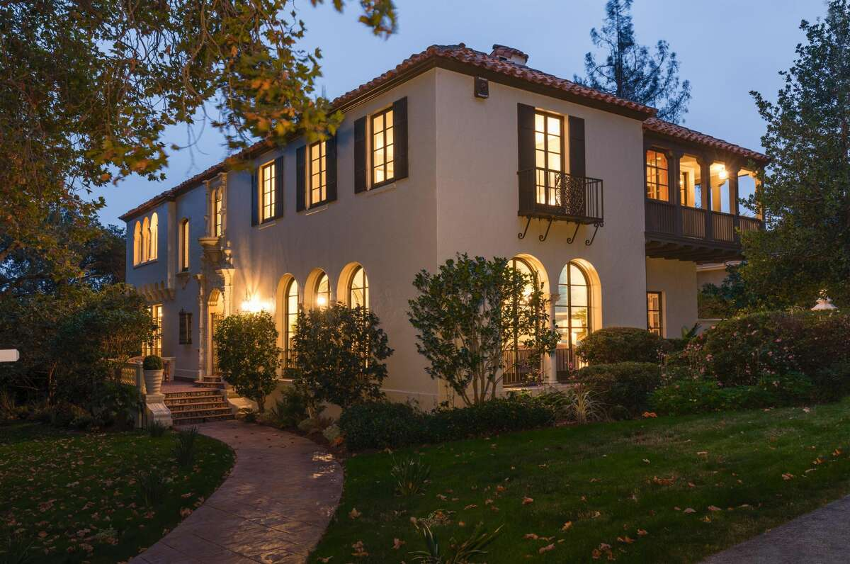 A Spanish Colonial Revival at 227 Crocker Ave. in Piedmont, Calif., is on the market for $3.795 million.