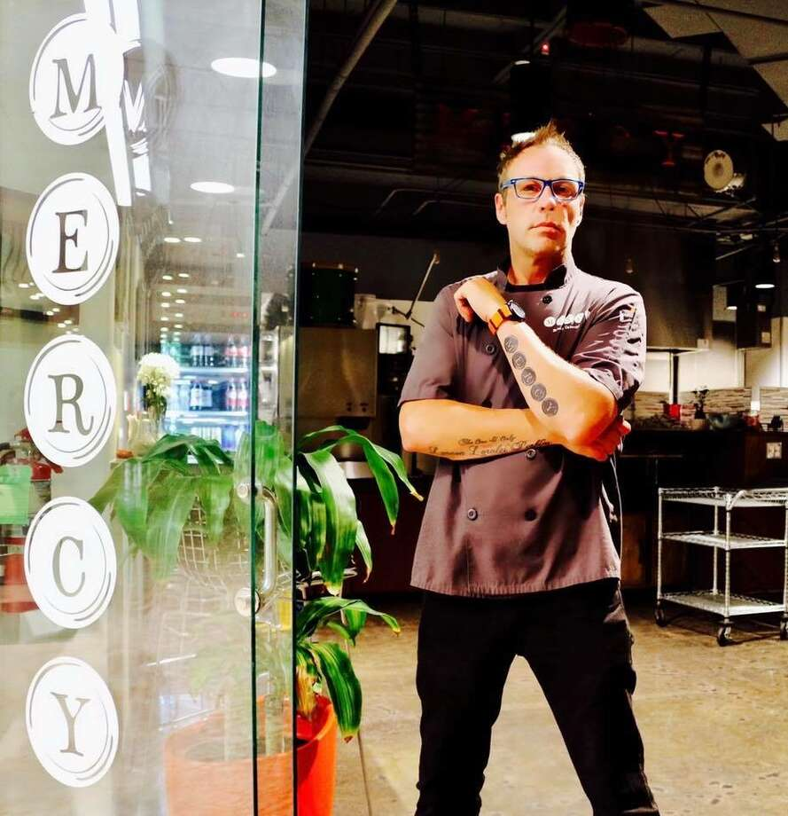 Chef Mick Perkins combines his passions for music and food at Mercy, a downtown restaurant he opened earlier this year. Photo: Courtesy Photo