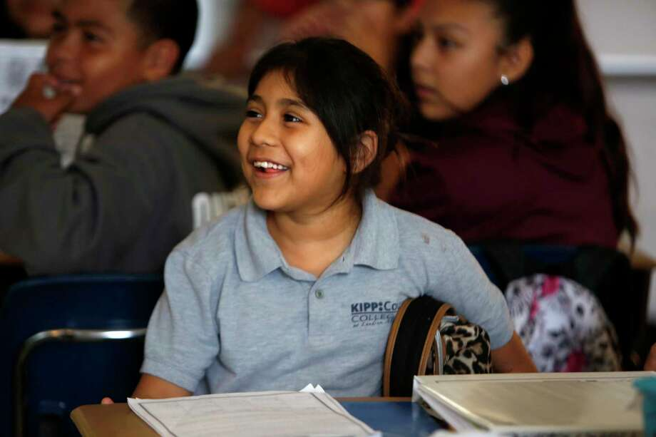 KIPP and Yes Prep schools partnered with Legacy Community Health and had counselors train teachers about helping students process their experiences with Harvey. Photo: Annie Mulligan / For The Houston Chronicle / @ 2016 Annie Mulligan & the Houston Chronicle