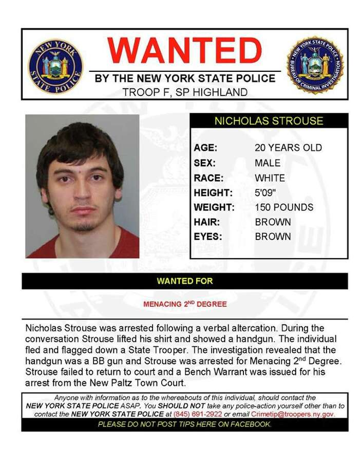 Nicholas Strouse Photo: New York State Police