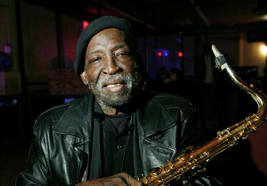 """As leader of the house band at the Ebony Lounge, sax player Vernon """"Spot"""" Barnett was one of San Antonio's best known musicians. He helped define the city's fabled West Side Sound and was a mentor to a young Doug Sahm. Photo: Express-News File Photo / THE SAN ANTONIO EXPRESS-NEWS"""