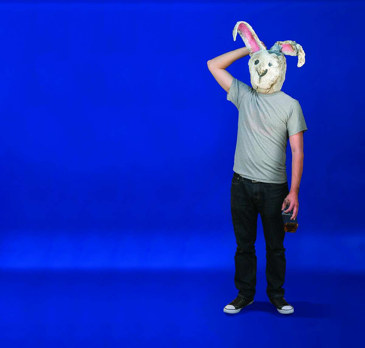 """An image from the new Daniel Handler play, """"Imaginary Comforts or The Story of the Ghost of the Dead Rabbit."""" opening at Berkeley Rep."""