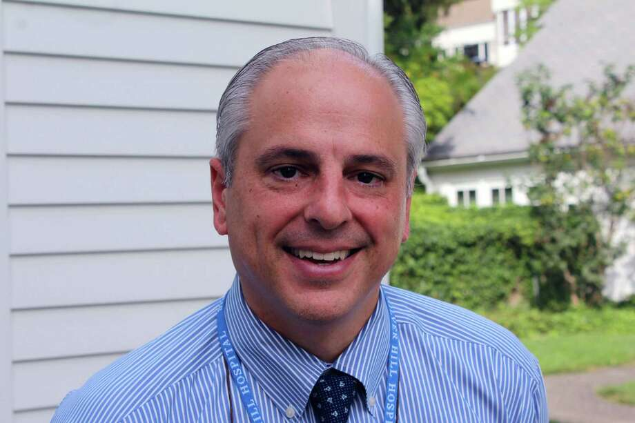 Silver Hill Hospital President and Medical Director Dr. John Santopietro in New Canaan on Sept. 21. Photo: Justin Papp / Hearst Connecticut Media / New Canaan News