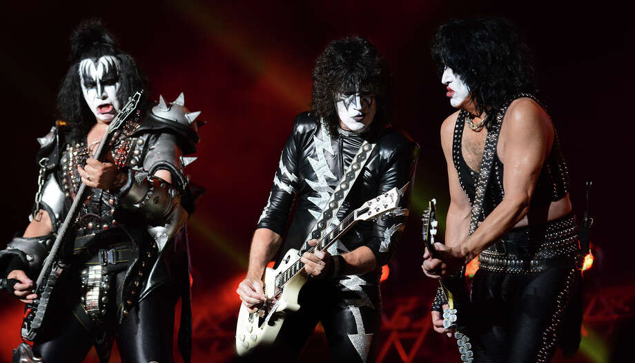 The rock band KISS last year in Houston.  >>Catch these acts coming to Houston in the weeks and months to come... Photo: Jerry Baker, Freelance / Freelance