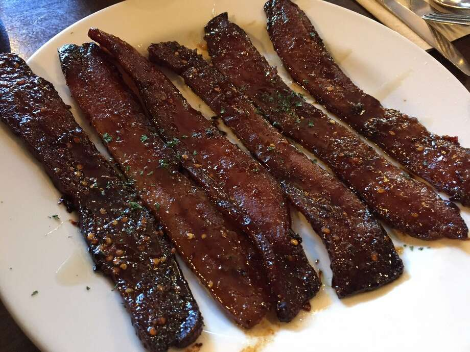 """Click ahead to see where you can find """"millionaire's bacon"""" around the Bay Area. Photo: Photo By Anny T. On Yelp"""