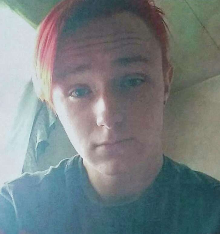 This undated image provided by Amber Steinfeld shows her child, Ally Lee Steinfeld, a transgender teen whose birth name was Joseph Matthew Steinfeld Jr. The burned and mutilated remains of Steinfeld's body were found in a bag stashed in a chicken coop in the rural southern Missouri town of Cabool, last week. Three suspects were arrested on Thursday, Sept. 21, 2017, and another was arrested on Monday, Sept. 25. (Courtesy of Amber Steinfeld via AP)