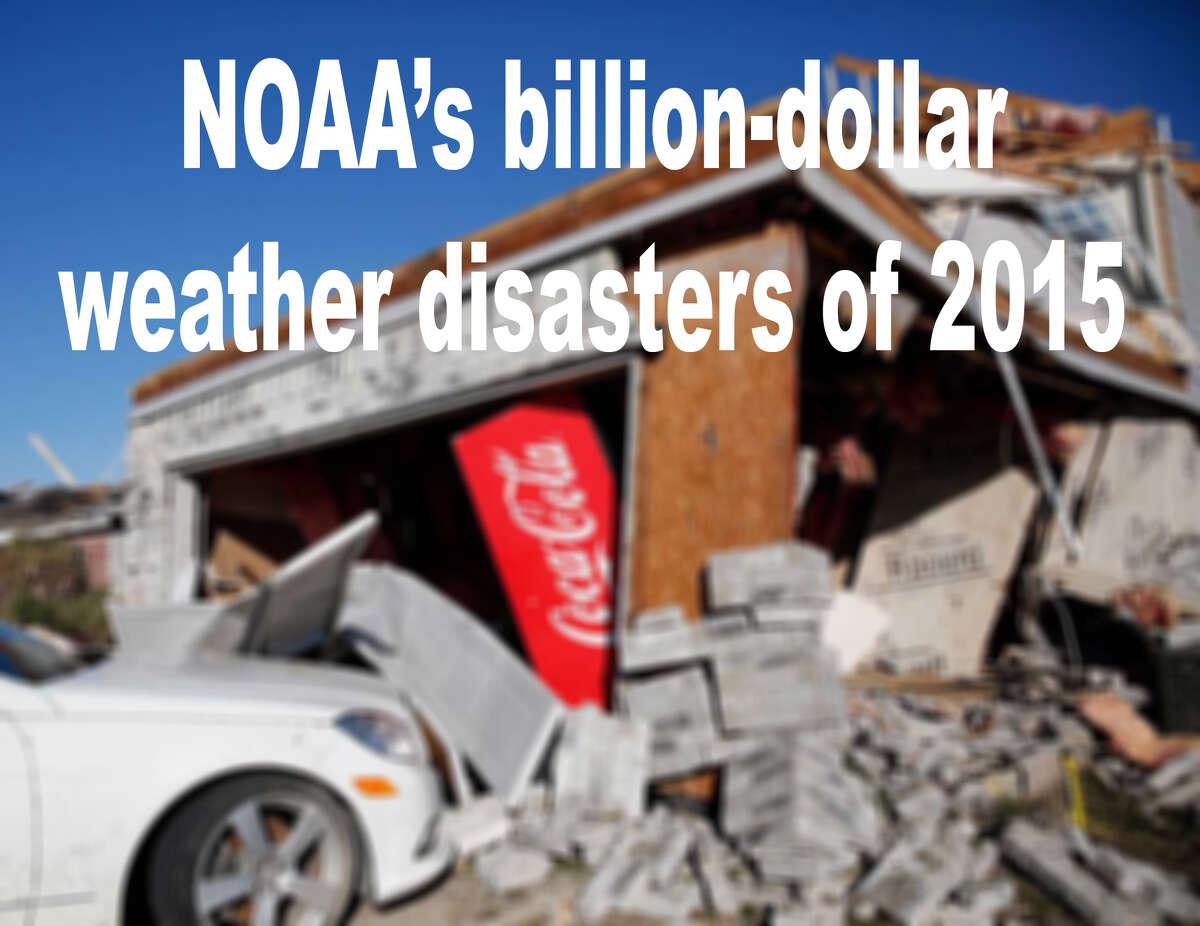 NOAA's billion-dollar weather evens in 2015.
