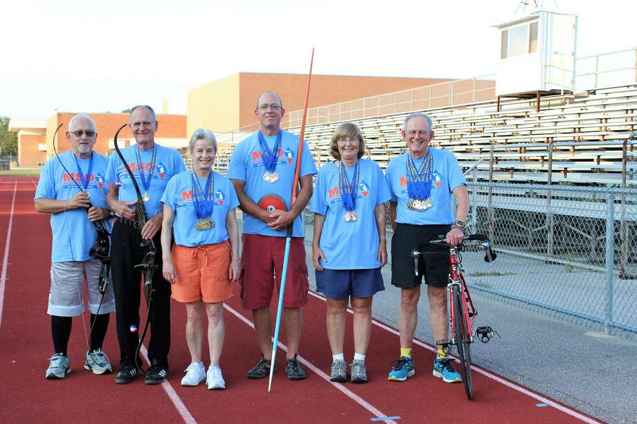 Midland medal winners from the 2017 Michigan Senior Olympics Photo: Photo Provided
