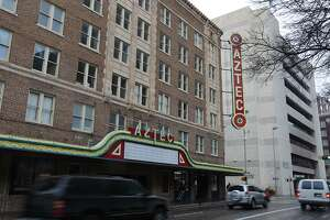 The owner of downtown's Aztec Theatre building has decided to turn much of it into a hotel, abandoning a two-year-old plan to create apartments there.