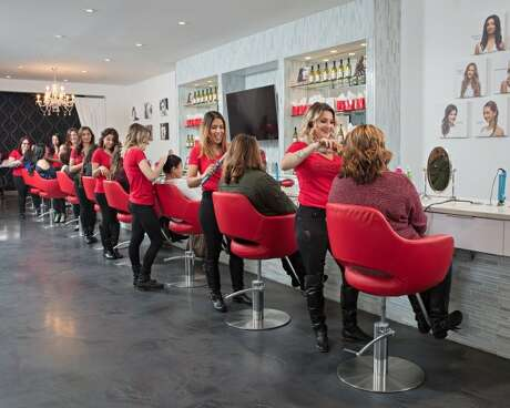 A New Jersey-based beauty salon franchise  is expanding into Houston. Courtesy of Cherry Blow Dry Bar
