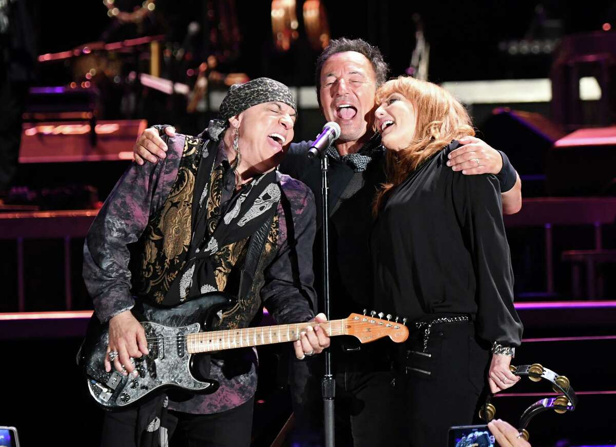 Bruce Springsteen and the E Street band perform at Nationals Park in Washington, D.C., in September 2016.