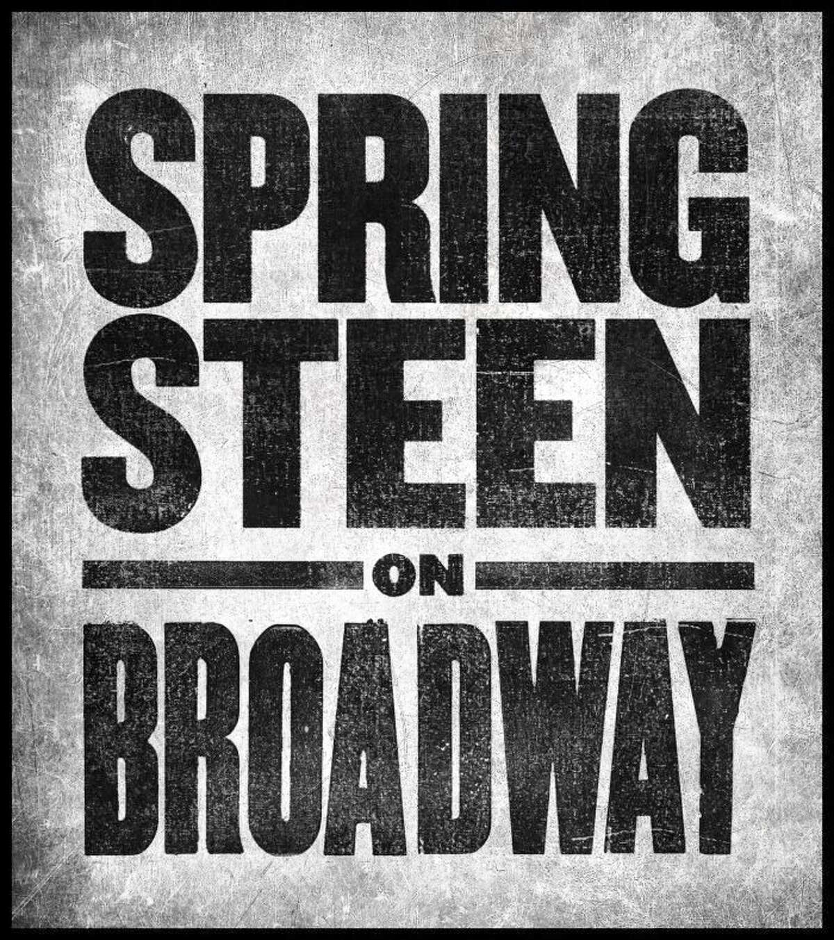 """Poster art for """"Springsteen on Broadway."""""""